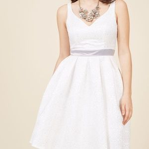 ModCloth Live for the Spotlight Fit & Flare Dress